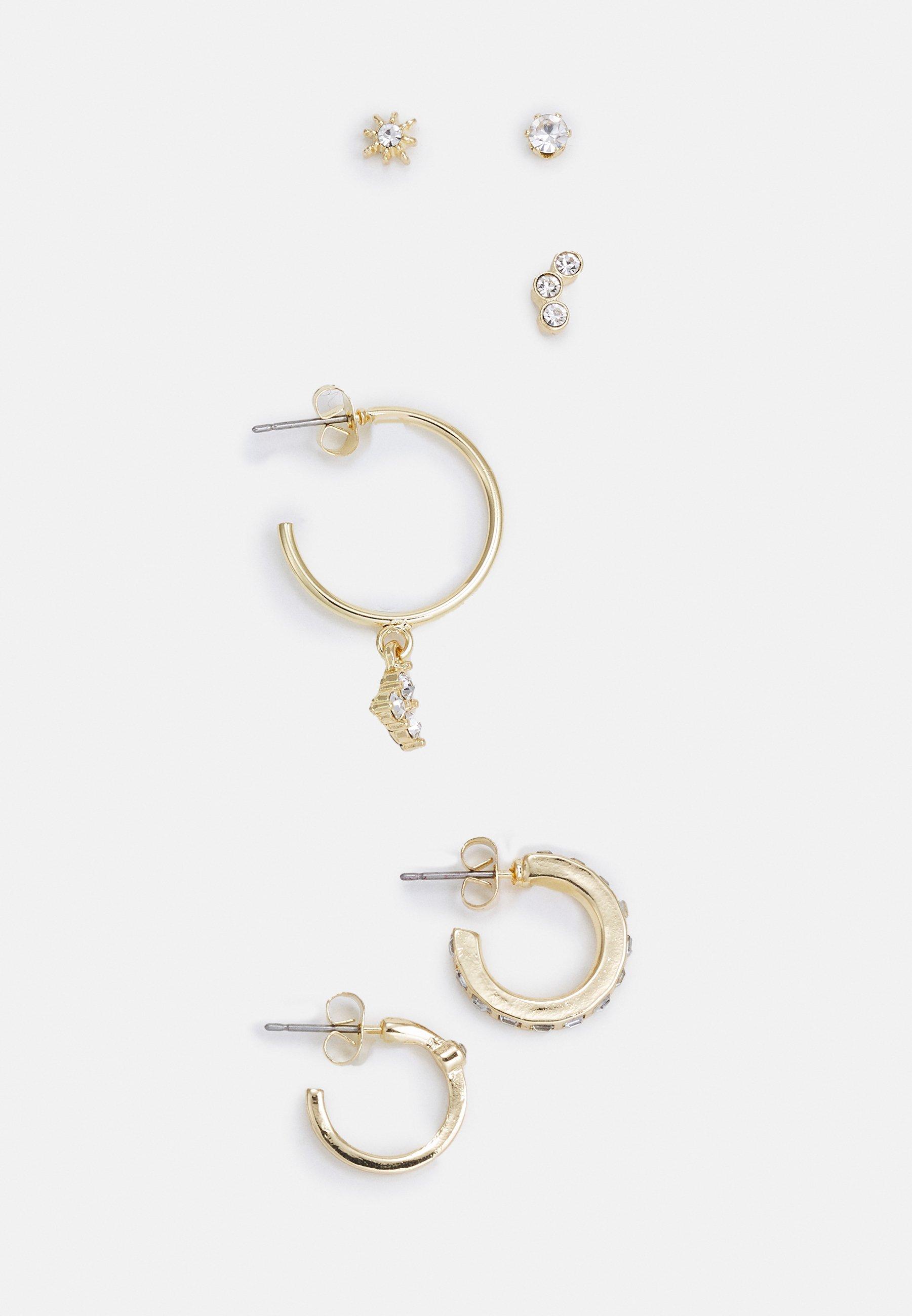 Women PCZEENA SOLO EARRINGS 6 PACK - Earrings