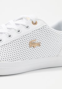 Lacoste - LEROND 120 - Trainers - white/gold