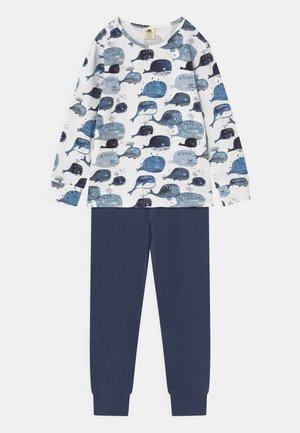 BABY WHALES UNISEX - Pyžamová sada - dark blue/white