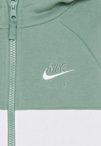 Nike Sportswear - AIR - Mikina na zip - silver pine/black/white - 3