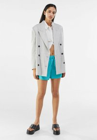 Bershka - Short coat - grey - 1