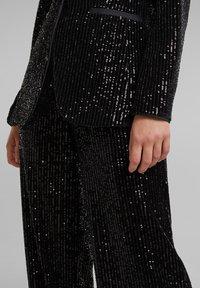 Esprit Collection - MIT PAILLETTEN - Blazer - black - 4