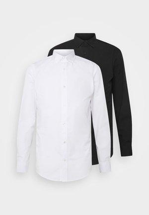 JJJOE 2 PACK - Vapaa-ajan kauluspaita - black/white