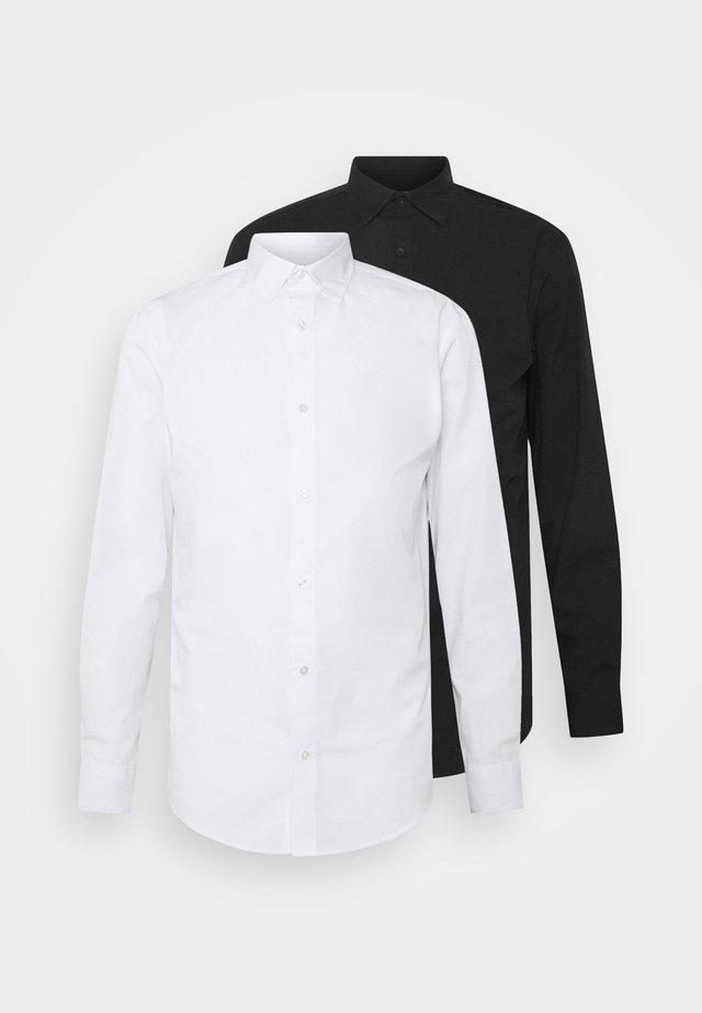 JJJOE 2 PACK - Shirt - black/white