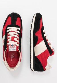 Polo Ralph Lauren - TRAIN 90 - Sneakers - black/red - 1