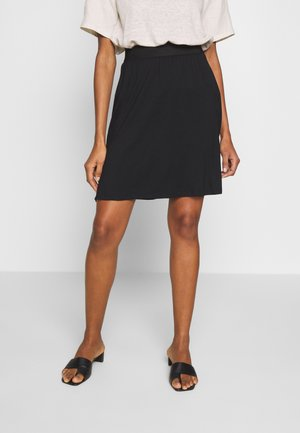 KAWILLE  - A-line skirt - black deep