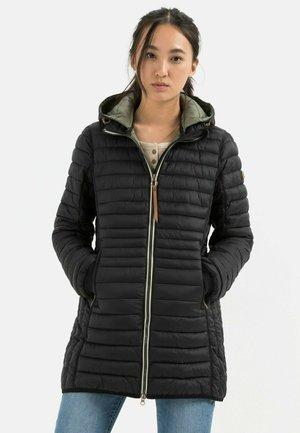 MIT STEHKRAGEN - Down coat - black