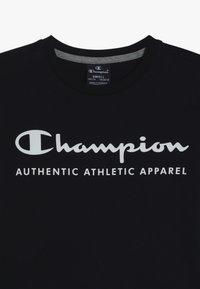 Champion - AMERICAN CLASSICS LONG SLEEVE CREWNECK  - Top sdlouhým rukávem - navy/greymelange - 4