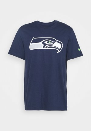 NFL SEATTLE SEAHAWKS LOGO ESSENTIAL - Squadra - college navy