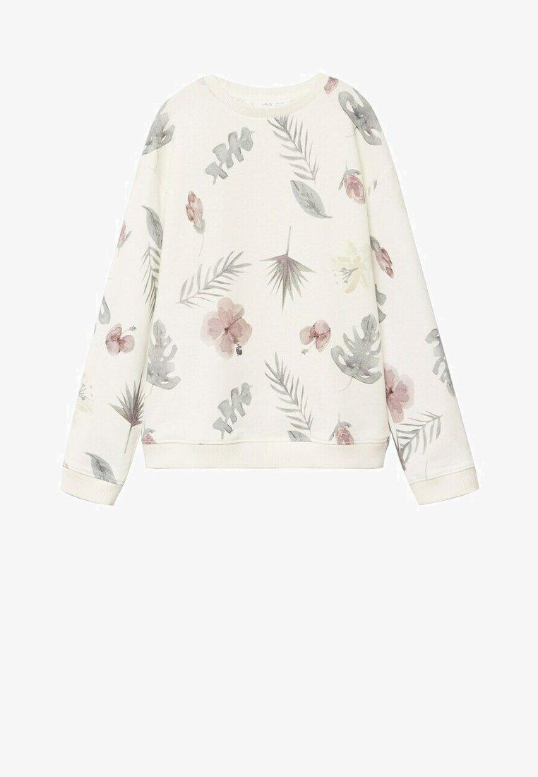 Mango - GARDEN - Sweatshirt - gebroken wit