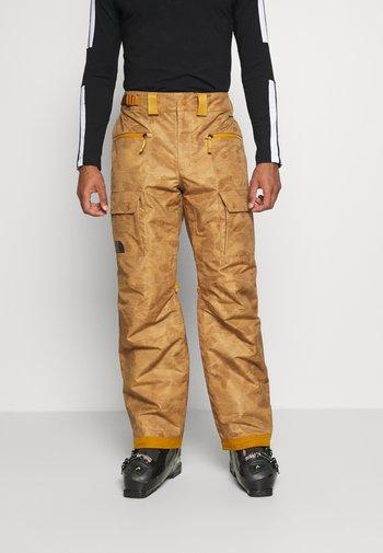 SLASHBACK  - Zimní kalhoty - tan