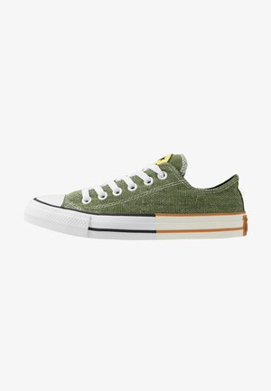 CHUCK TAYLOR ALL STAR - Sneakersy niskie - cypress green/zinc yellow