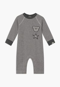 Turtledove - BADGED COSY PLAYSUIT BABY - Jumpsuit - grey - 0