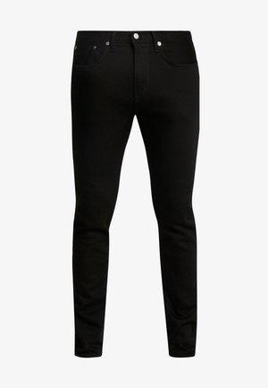 SLIM TAPERED - Slim fit jeans - rinsed kaihara black