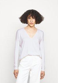 rag & bone - THE VEE - Long sleeved top - white - 0