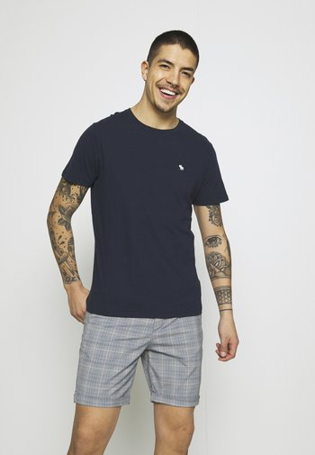 CREW 3 PACK  - Basic T-shirt - navy
