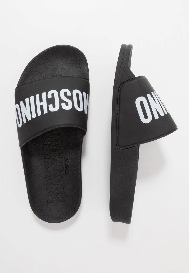 MOSCHINO - Pantofle - black