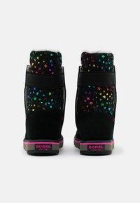 Sorel - YOUTH RYLEE STARS - Snowboots  - black - 2