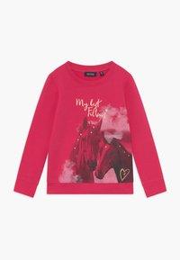 Blue Seven - KIDS GREY HORSE  - Sweatshirt - magenta - 0