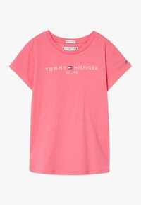 Tommy Hilfiger - ESSENTIAL TEE - T-shirt con stampa - pink - 0