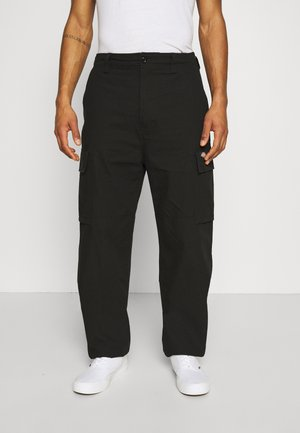 EAGLE BEND - Pantalones cargo - black