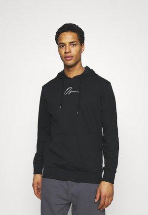 JORSCRIPTT HOOD - Sweatshirt - black