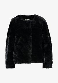 SHORT CARVED - Vinterjakke - black