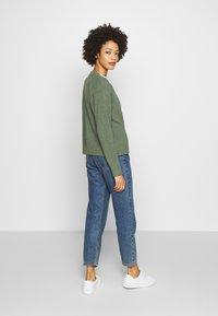 Esprit - SLUBSEAMING - Cardigan - khaki green - 2