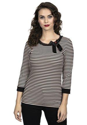 STRIPEY - Long sleeved top - schwarz
