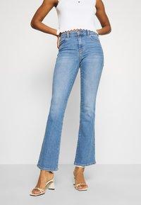 Dr.Denim - SONIQ - Flared Jeans - westcoast light blue - 0