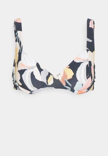 KAIMU PANNELLED UNDERWIRE - Bikinitop - pebble