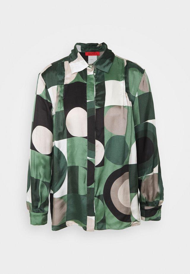 PETTINE - Camicetta - dark green