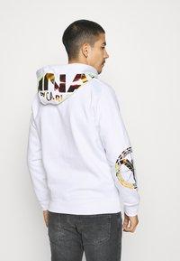 Carlo Colucci - UNISEX - Zip-up sweatshirt - white reflectiv - 2