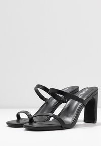 Rubi Shoes by Cotton On - LENNOX MULE - Pantofle na podpatku - black