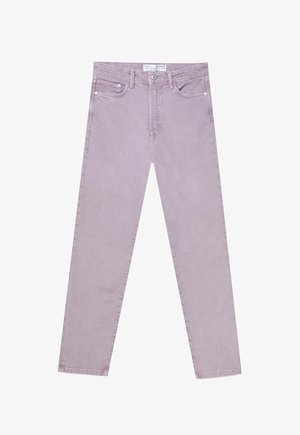 Slim fit jeans - mottled purple