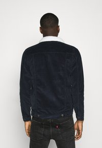 Denim Project - TEDDY JACKET - Tunn jacka - navy - 2