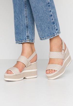 Sandalen met hoge hak - ice
