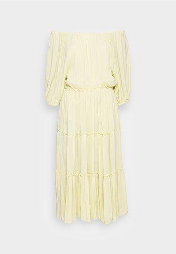 MINORA-VIENNA MIDI DRESS  - Vestido informal - young wheat