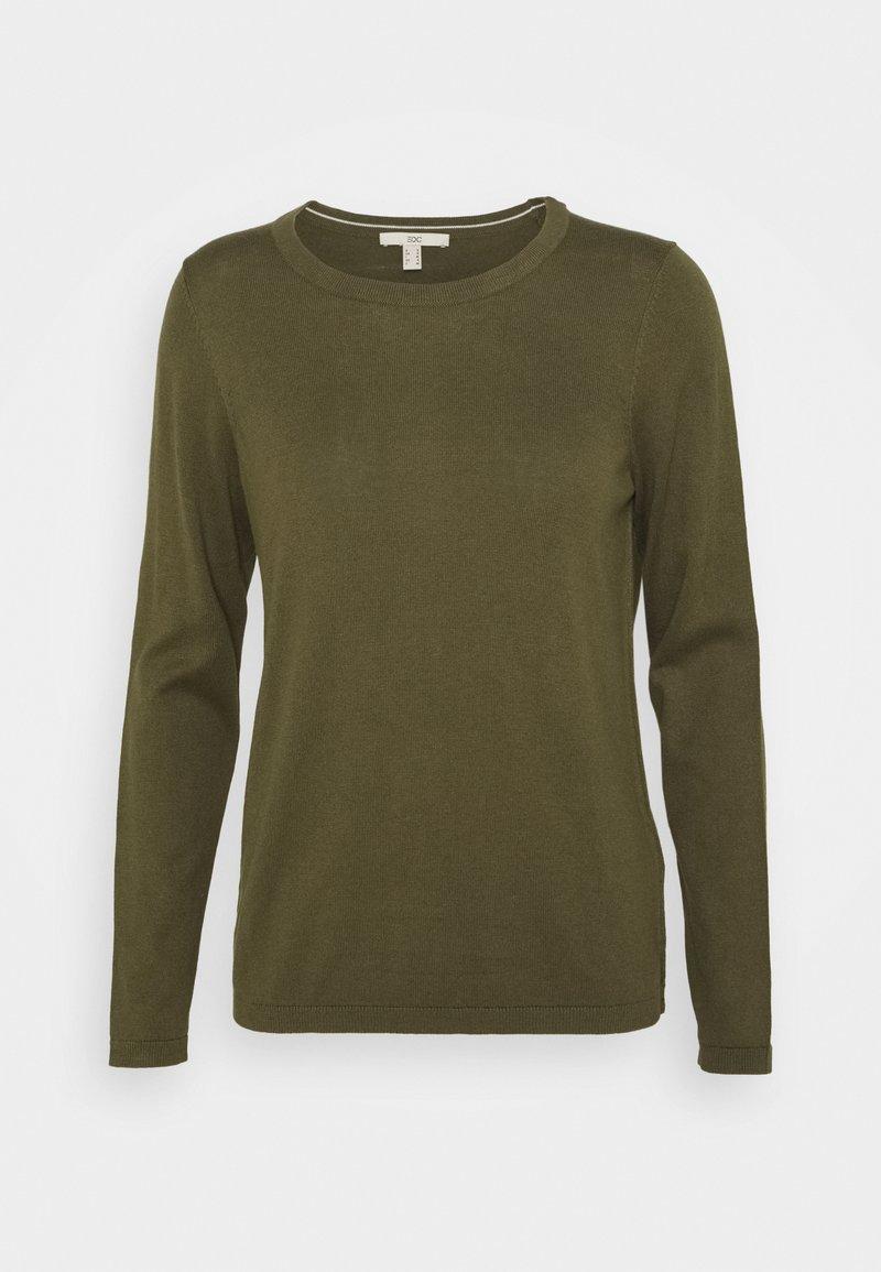 edc by Esprit - COO - Jumper - khaki green