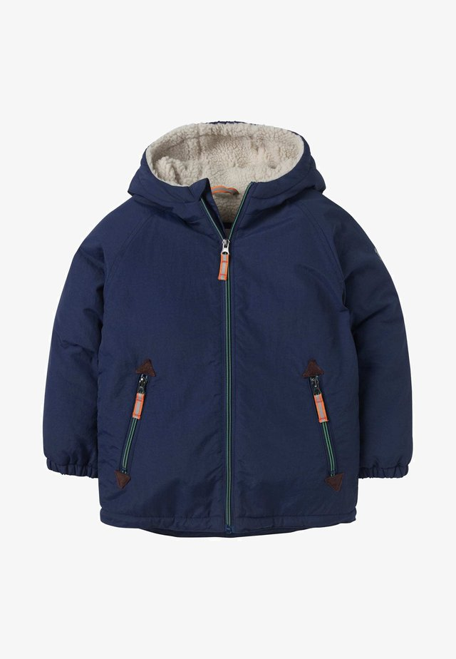 MIT SHERPA-FUTTER - Winter jacket - college navy