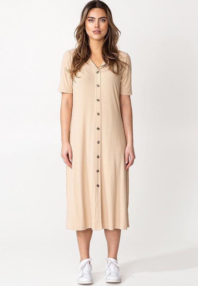 Denní šaty - beige