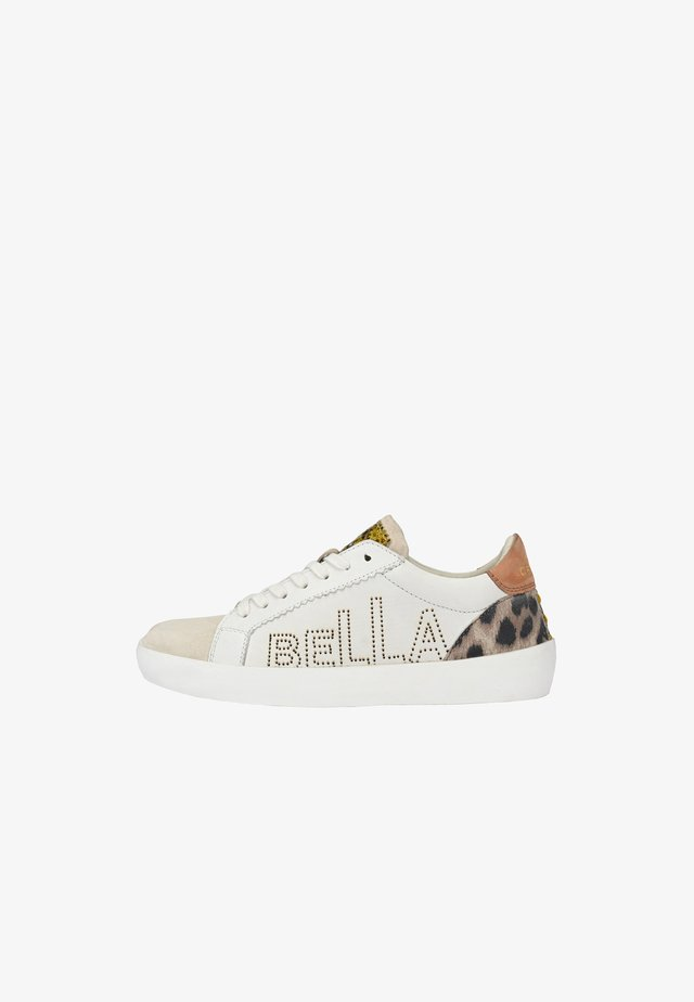 MIT CIAO BELLA - Sneakers laag - weiß leo