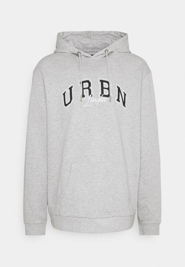 EXTREME OVERSIZED HOODY UNISEX - Sweatshirt - grey