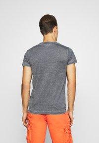 Schott - Print T-shirt - navy - 2