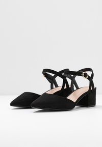 New Look Wide Fit - WIDE FIT SAMIRA - Tacones - black - 4
