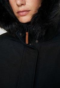 MAMALICIOUS - MLJESSIE NEW COAT - Parka - black/black - 7