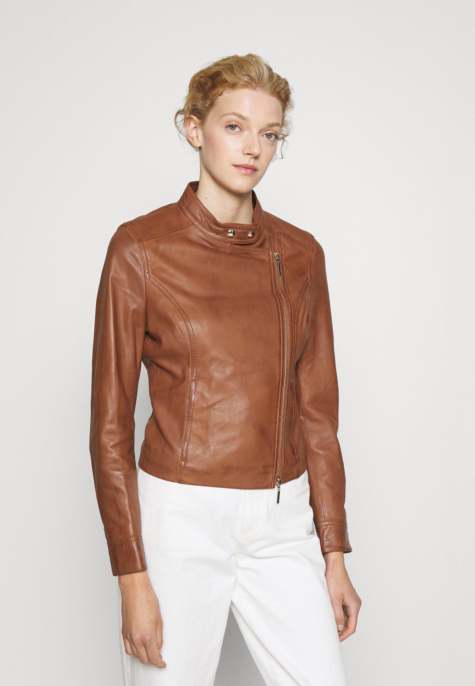 Femme JACKET - Veste en cuir