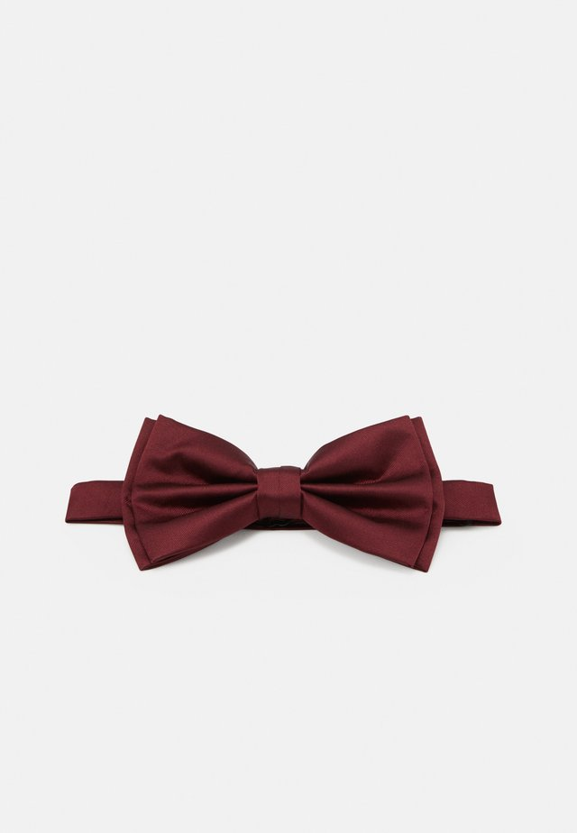 Noeud papillon - dark red