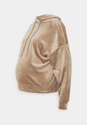 HODDIE MOM TAYLOR  - Hoodie - dark dusty beige