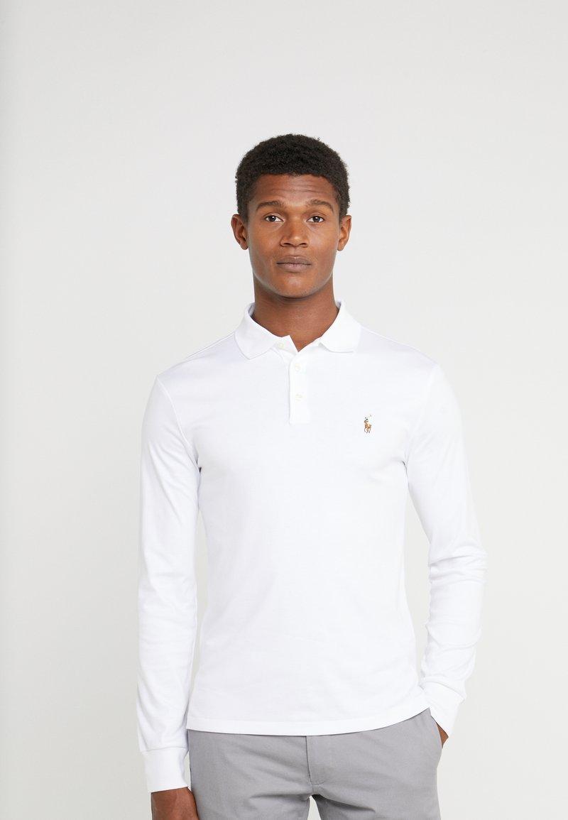 Polo Ralph Lauren - PIMA KNT - Polo shirt - white